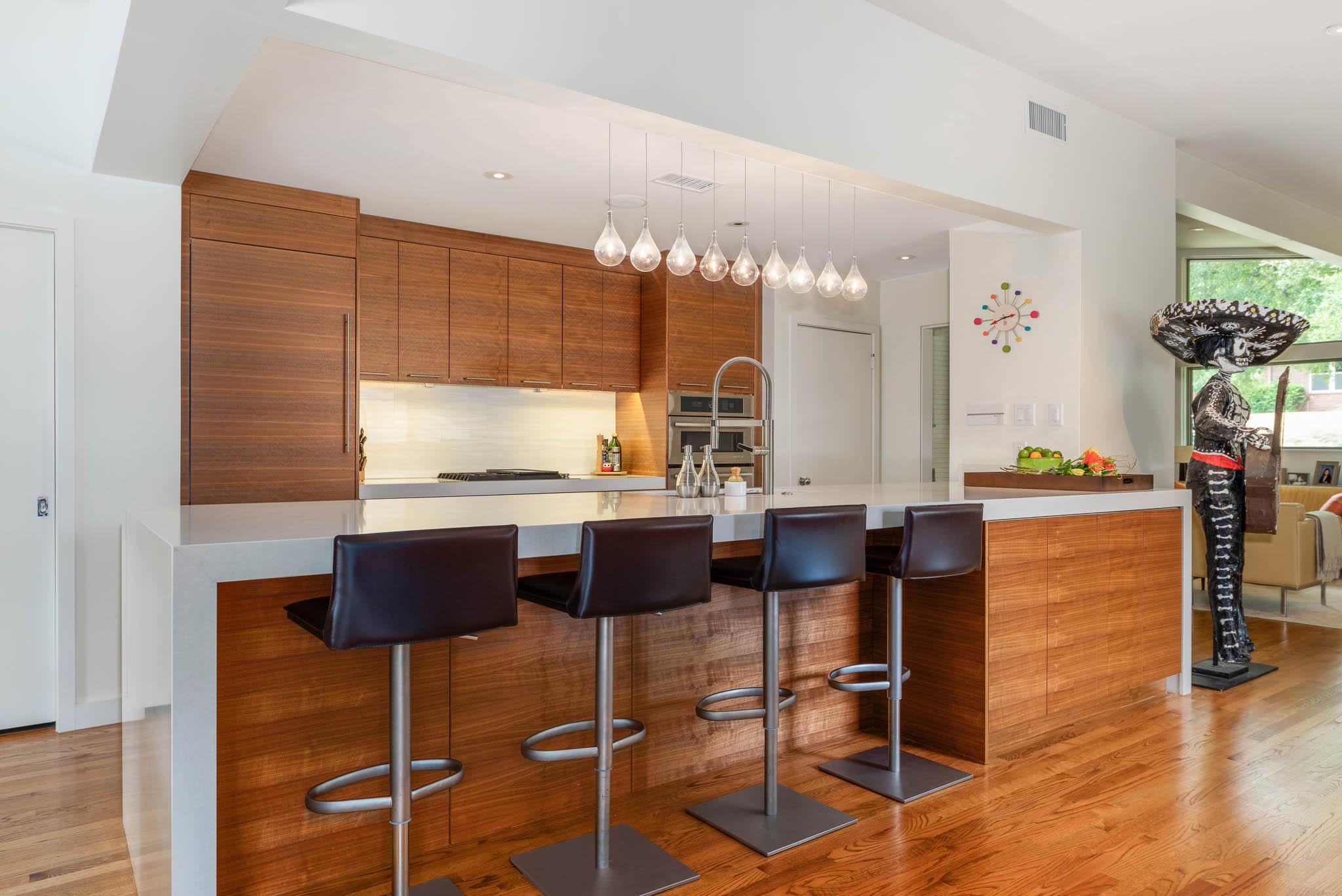 Kitchen in Oak Cliff home