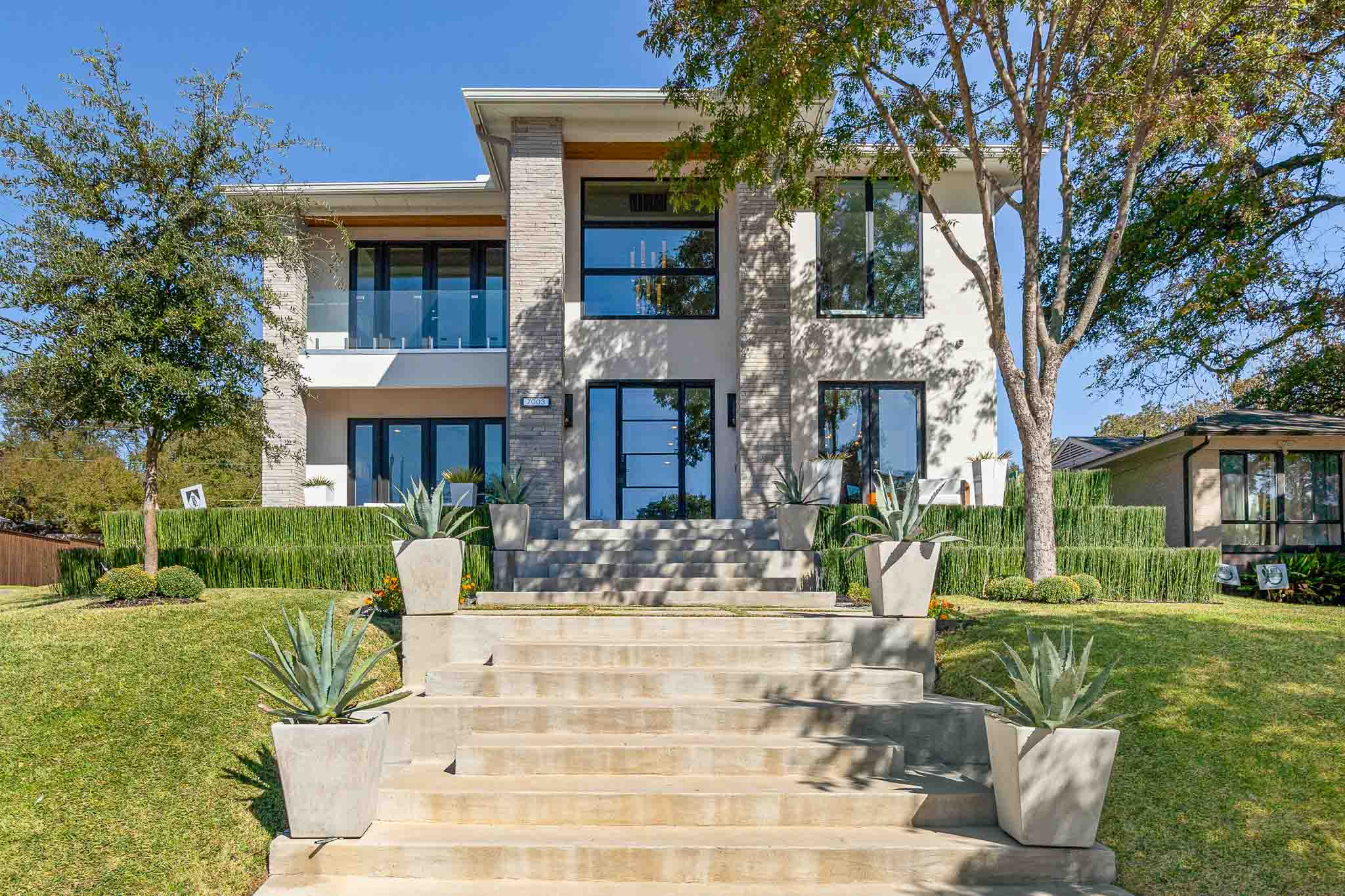 Highland Park home for sale with modern architecture