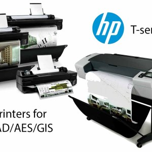 HP T-series with Logo