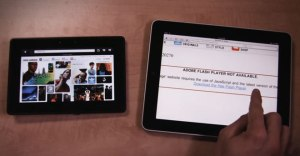 Playbook Blackberry vs apple