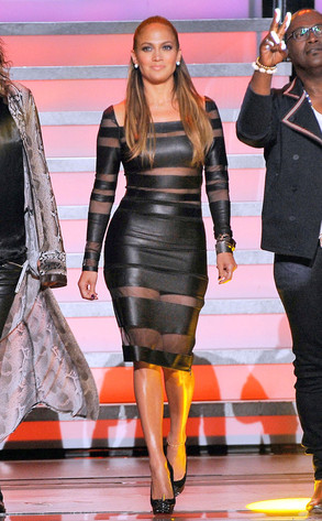 jennifer lopez american idol dress