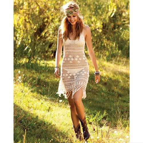 Crochet coverup summer