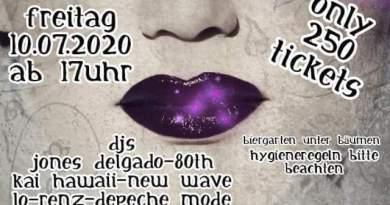 """News: Erste Party nach dem Lockdown – """"Black Summer Lounge"""" der Subkultur Hannover"""