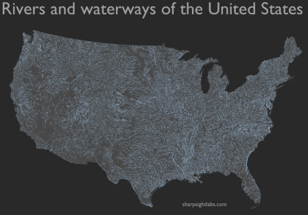 How To Map Geospatial Data USA Rivers Rbloggers - R code for a us map