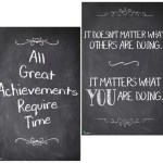 11 x 17″ Poster Set – Inspiration Chalkboard