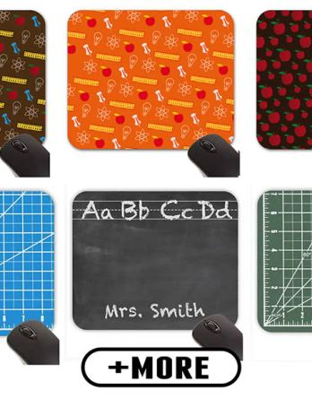 School, Classroom, Teacher Themed Mouse Pads