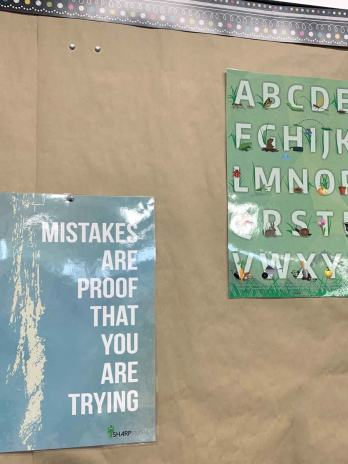 Mistakes Are Proof You Are Trying, Poster (11×17) – Sharp Student