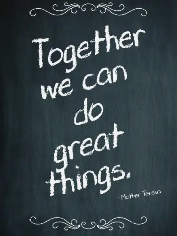 Together We Can Do Great Things, Poster (11×17) – Sharp Student