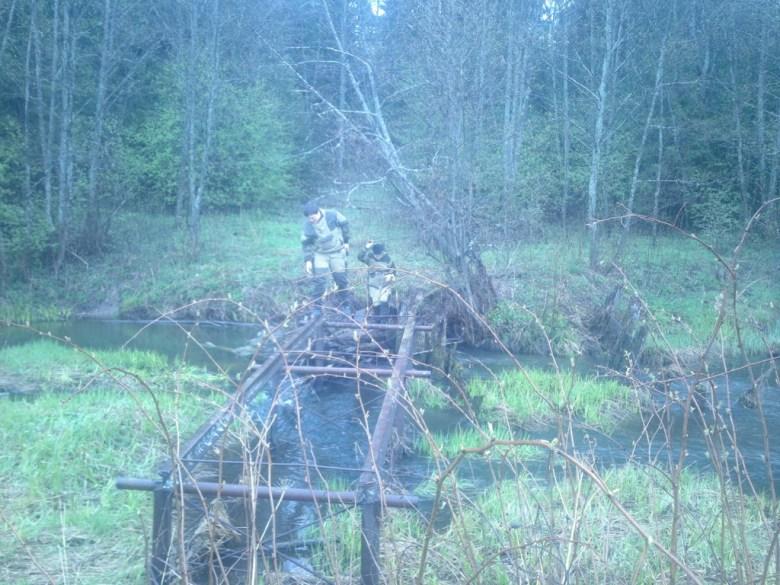 Поездка на вырубку леса (в лагерь Игнатовский)