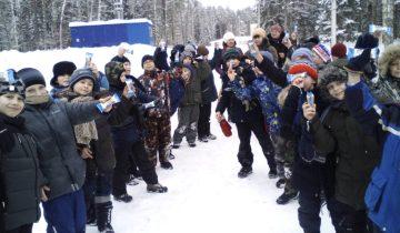 Зимние забавы в начальной школе