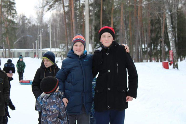 Празднование зимних именинников