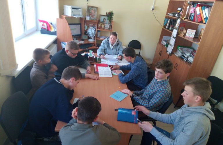 работа с Советом командиров школы