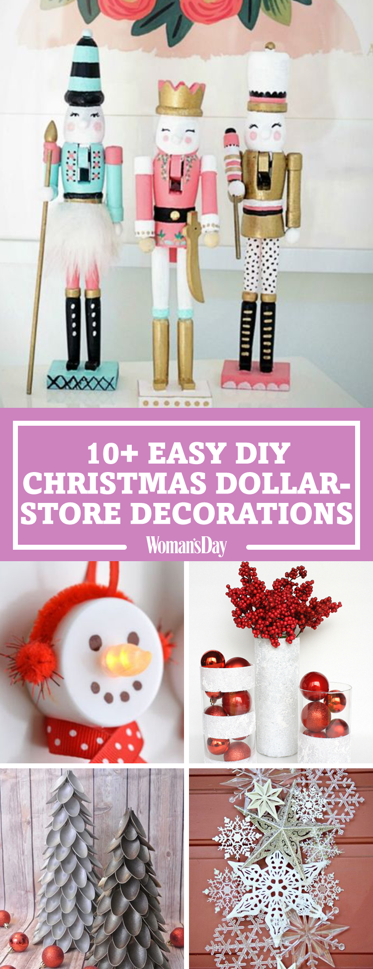 Best Dollar Store Christmas Decorations Christmas Decor From This Month