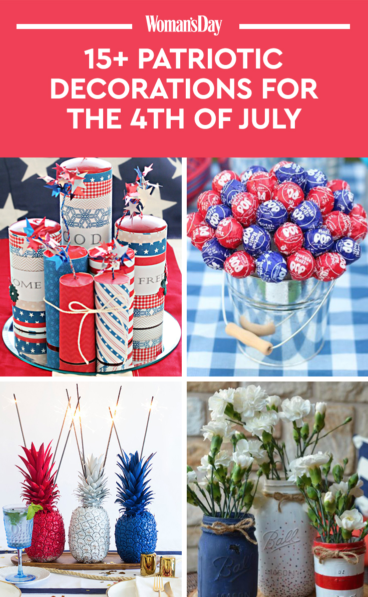 Best 17 Best 4Th Of July Decorations Patriotic Decorating This Month