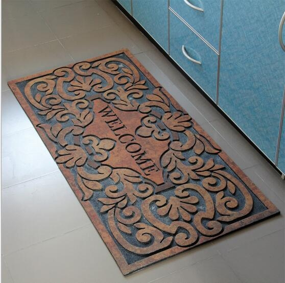 Best Decorative Recycle Rubber Door Mat Environmental Recycle This Month