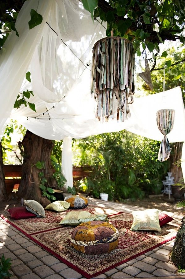 Best 27 Amazing Ideas How To Make Your Garden Bohemian Style This Month
