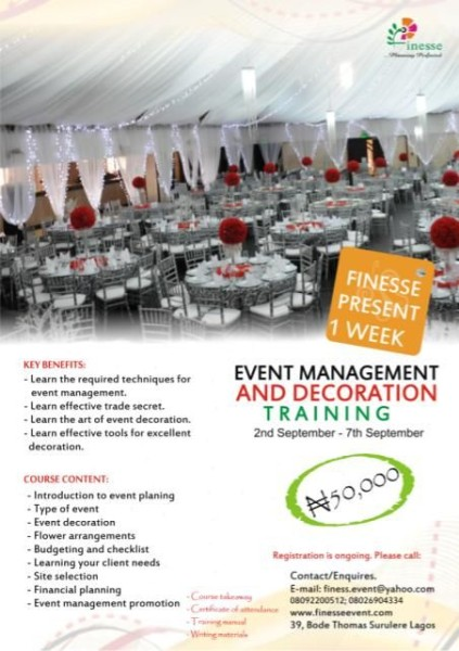 Best Improve Your Events Management Decorating Skills With This Month