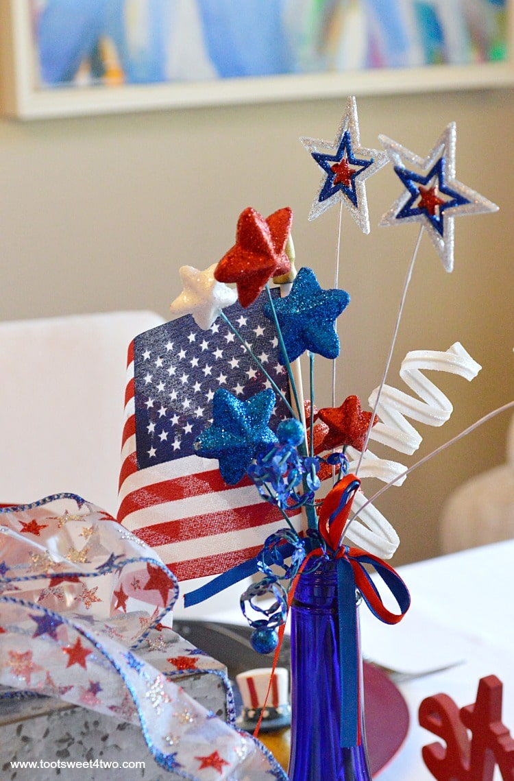 Best Decorating The Table For 4Th Of July Toot Sweet 4 Two This Month