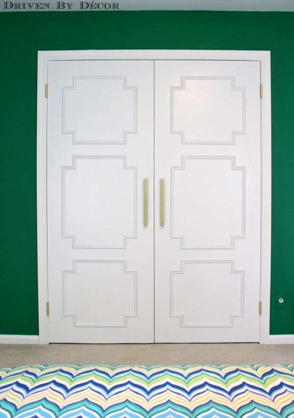 Best Update Your Flat Doors With This Diy Molding Makeover This Month