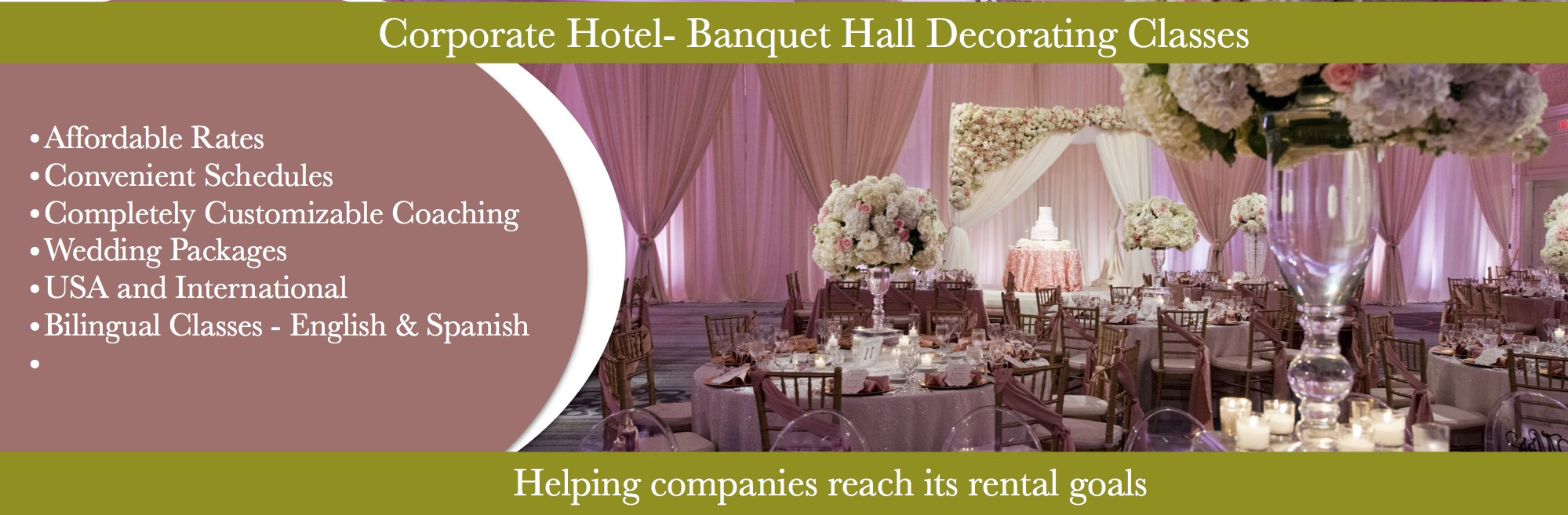 Best Event Decorating Academy Your Source For Professional This Month