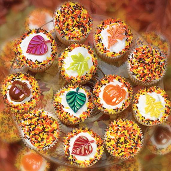 Best Easy Thanksgiving Cupcake Decorating Ideas Family This Month
