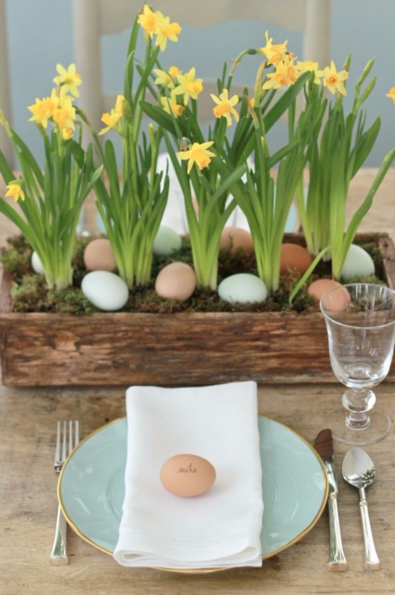 Best Creative Easter Table Setting Ideas In Blue And White To This Month