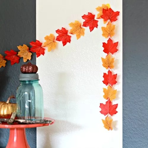 Best 26 Diy Leaf Garland Ideas Guide Patterns This Month