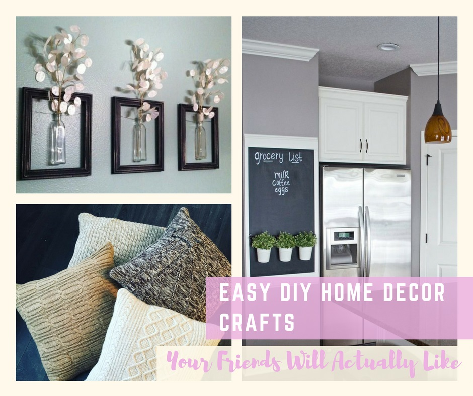 Best Easy Diy Home Decor Crafts Your Friends Will Actually Like This Month