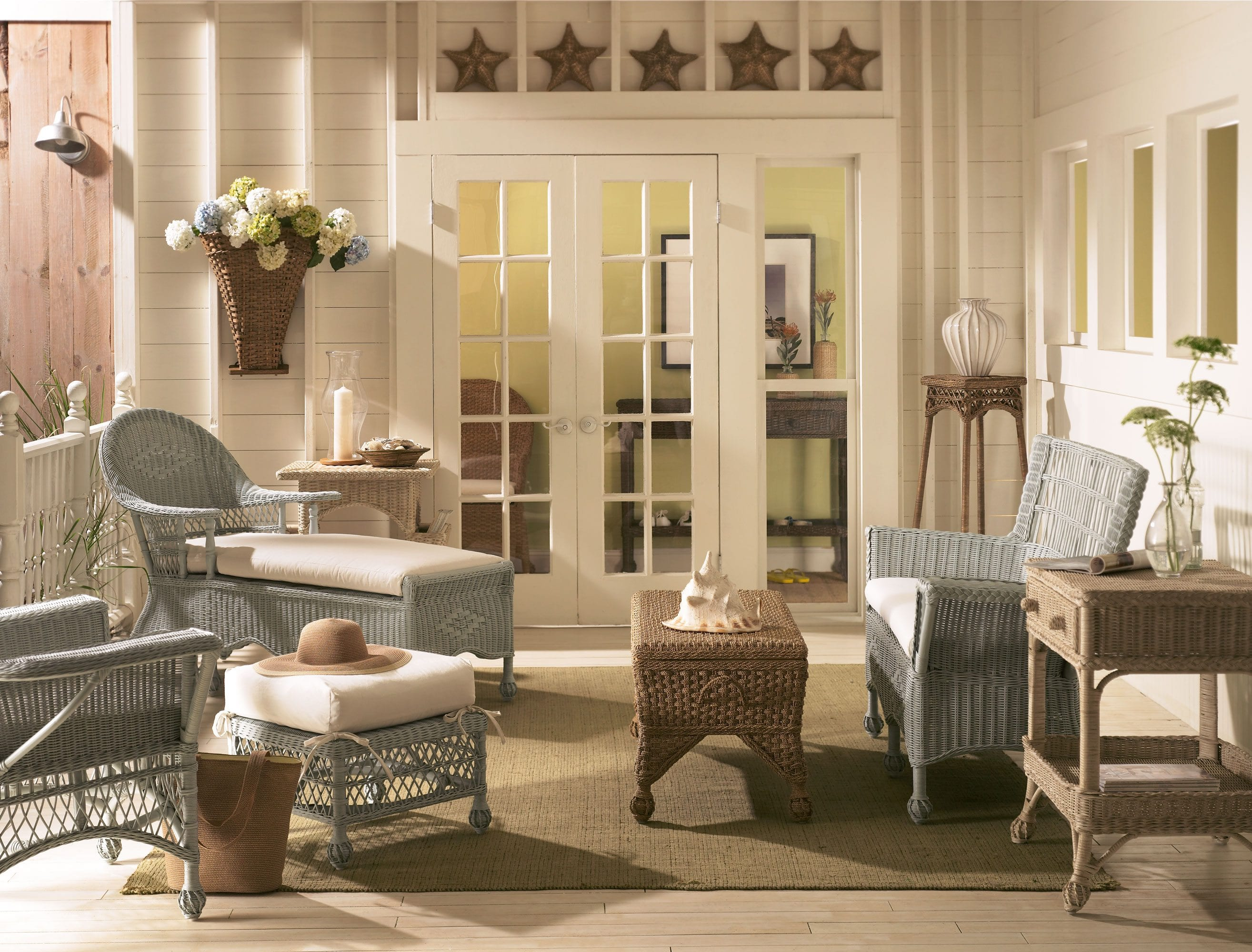 Best Cottage Wicker Furniture Archives Cottage Home® This Month