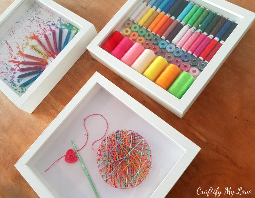 Best Crocheting Inspired String Art Craft Room Wall Art This Month