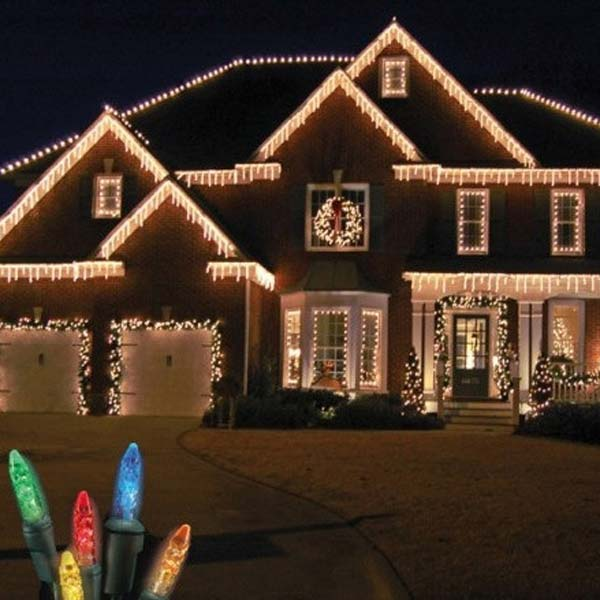 Best Top 46 Outdoor Christmas Lighting Ideas Illuminate The This Month
