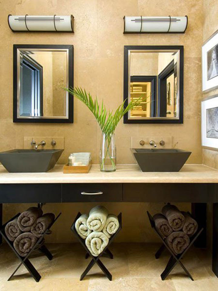Best 20 Creative Bathroom Towel Storage Ideas This Month