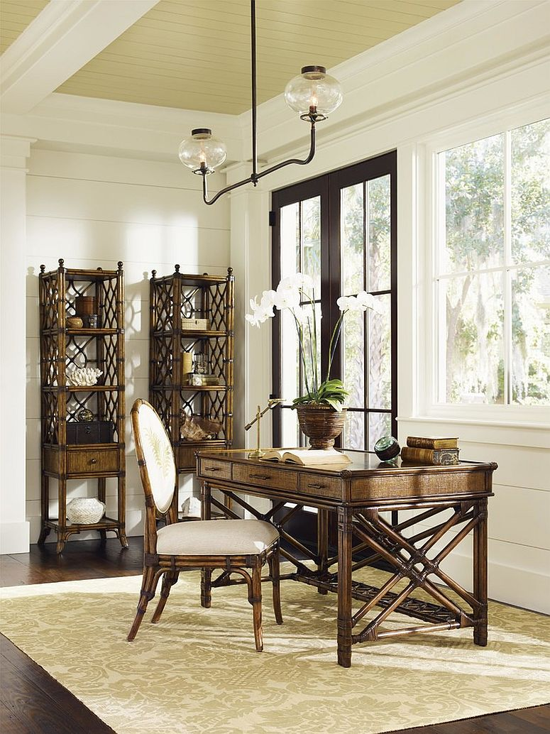 Best 10 Ways To Go Tropical For A Relaxing And Trendy Home Office This Month