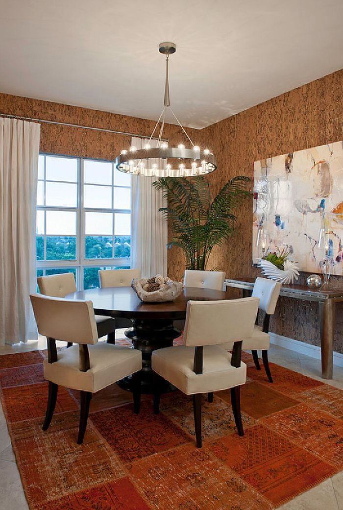 Best 27 Splendid Wallpaper Decorating Ideas For The Dining Room This Month