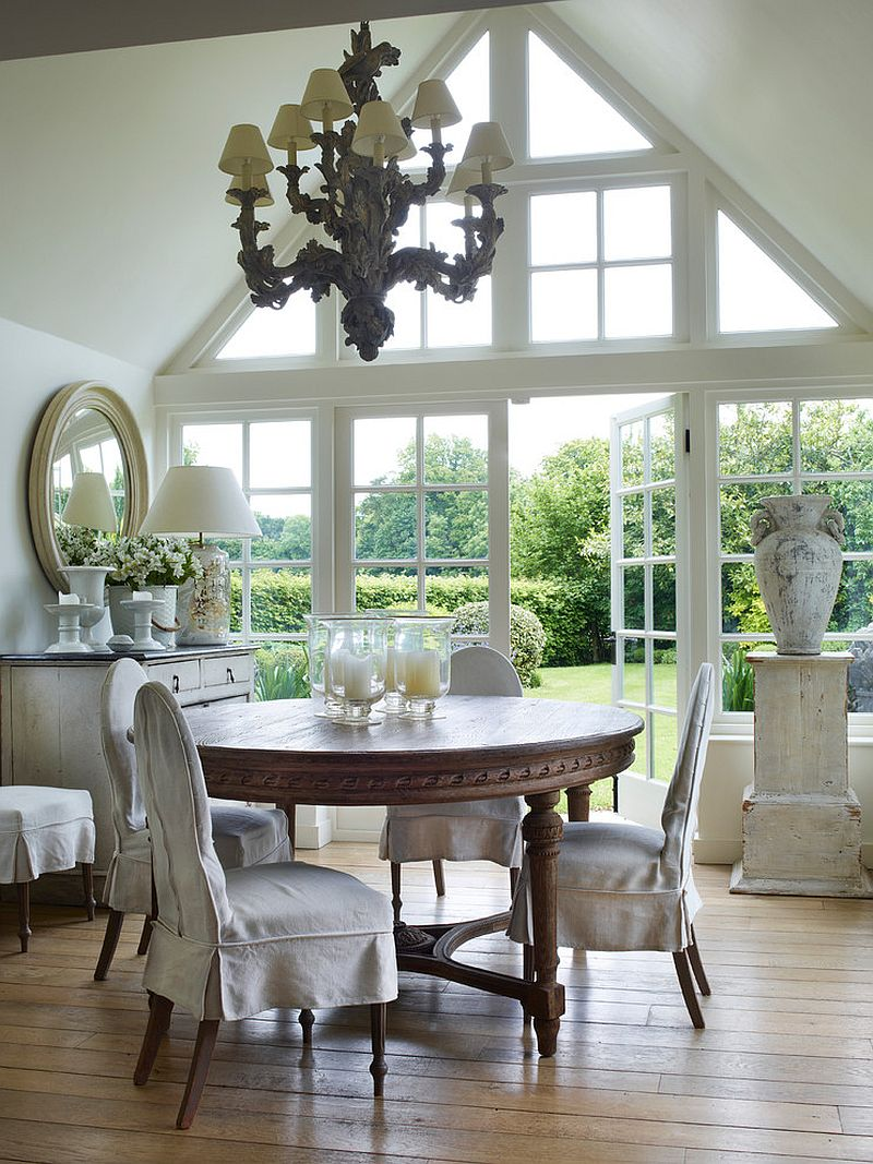 Best 30 Unassumingly Chic Farmhouse Style Dining Room Ideas This Month
