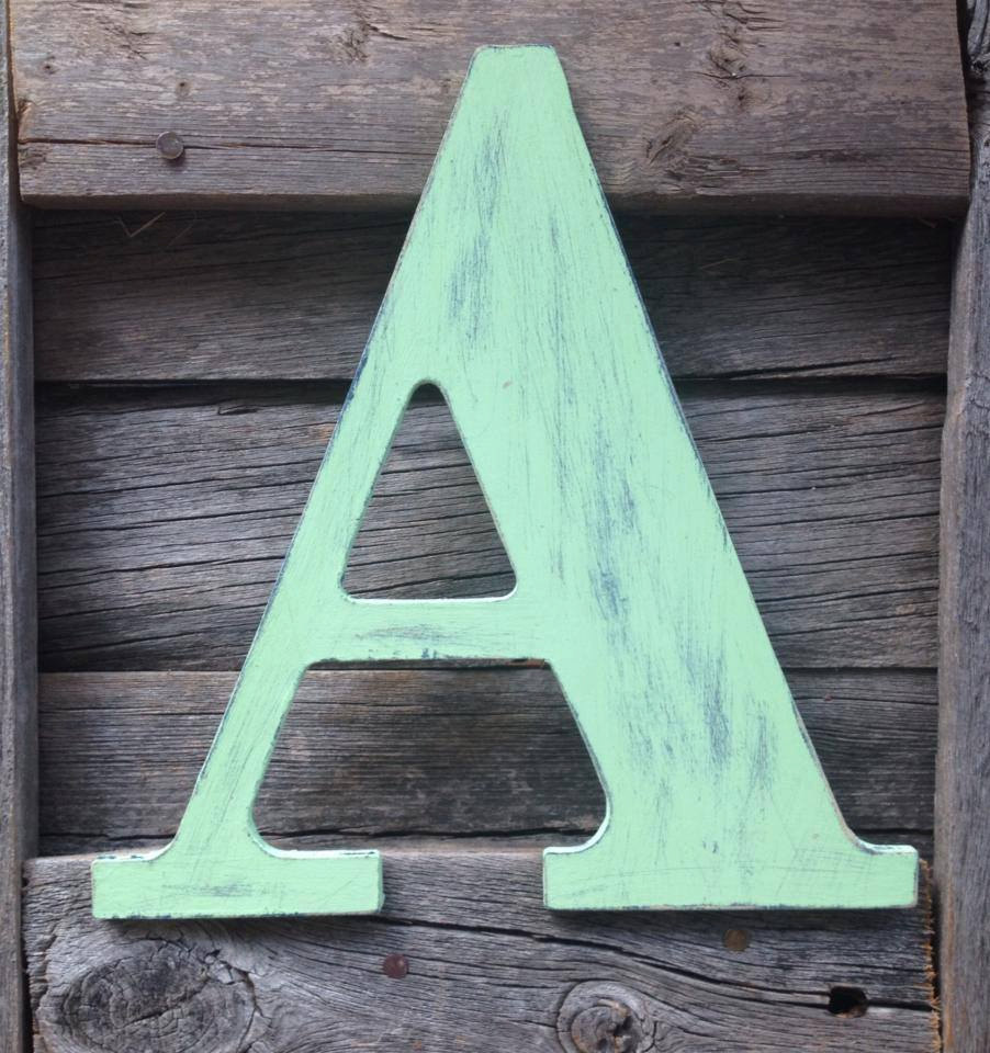 Best Decorating With Wooden Letters This Month
