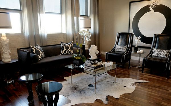 Best Color Design Ideas With Black Furniture This Month