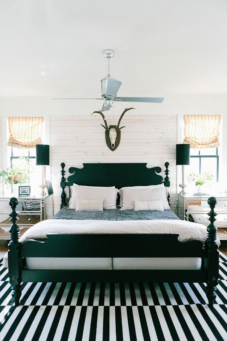 Best How To Enhance A Décor With A Black And White Striped Rug This Month