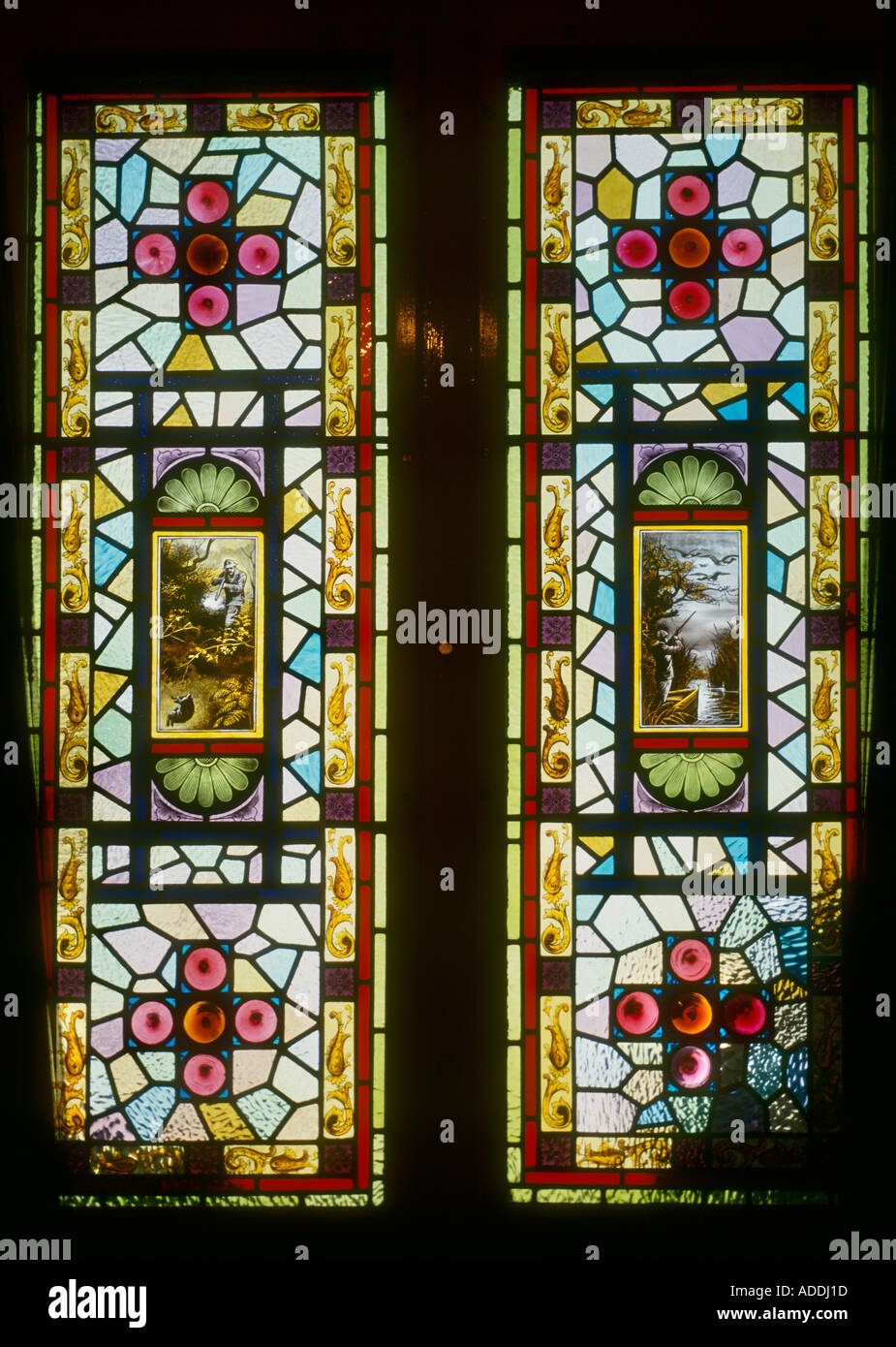 Best Decorative Stained Glass Victorian Hand Painted Front Door This Month