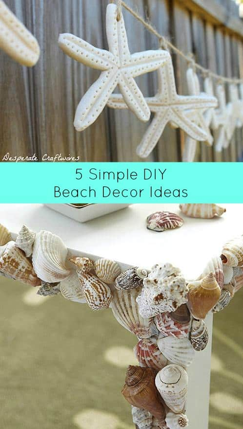 Best 5 Simple Diy Beach Decor Ideas Diy Cozy Home This Month