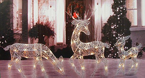 Best Reindeer Lighted Yard Displays Christmas Wikii This Month