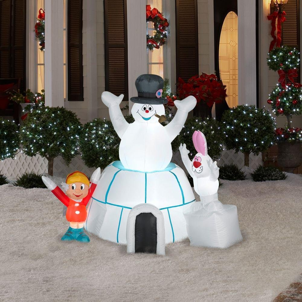 Best Christmas Snowman Outdoor Inflatables Christmas Wikii This Month