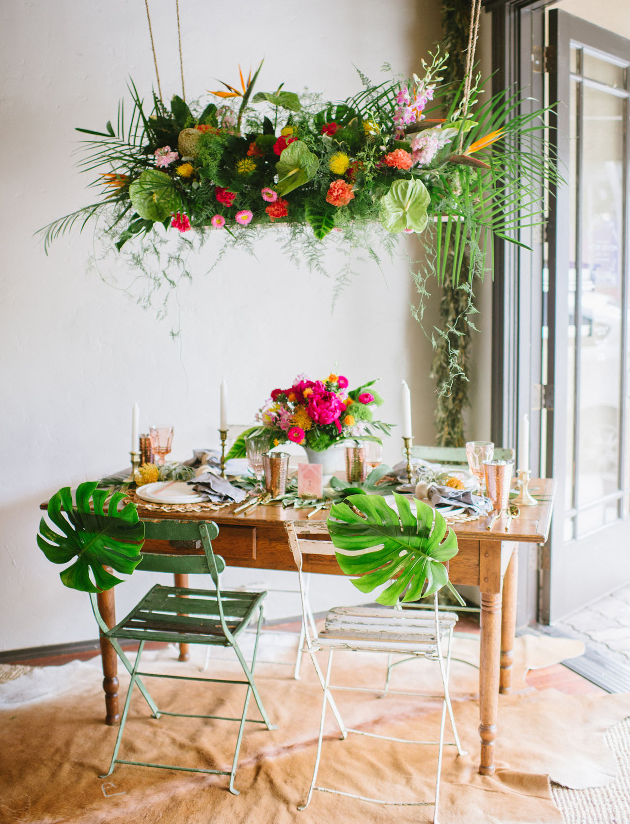 Best Modern Tropical Wedding Inspiration From Minted A 500 This Month