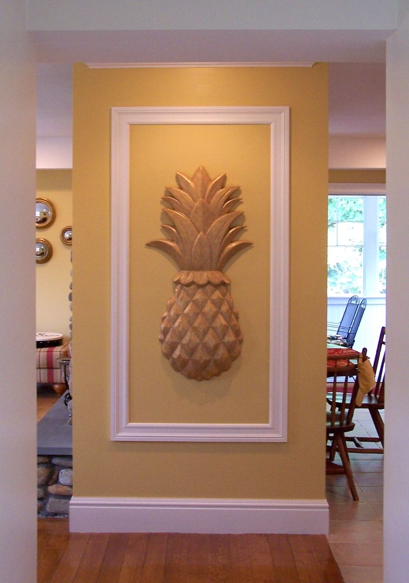 Best Custom Large Pineapple Wall Art By Heartwood Carving Inc Custommade Com This Month
