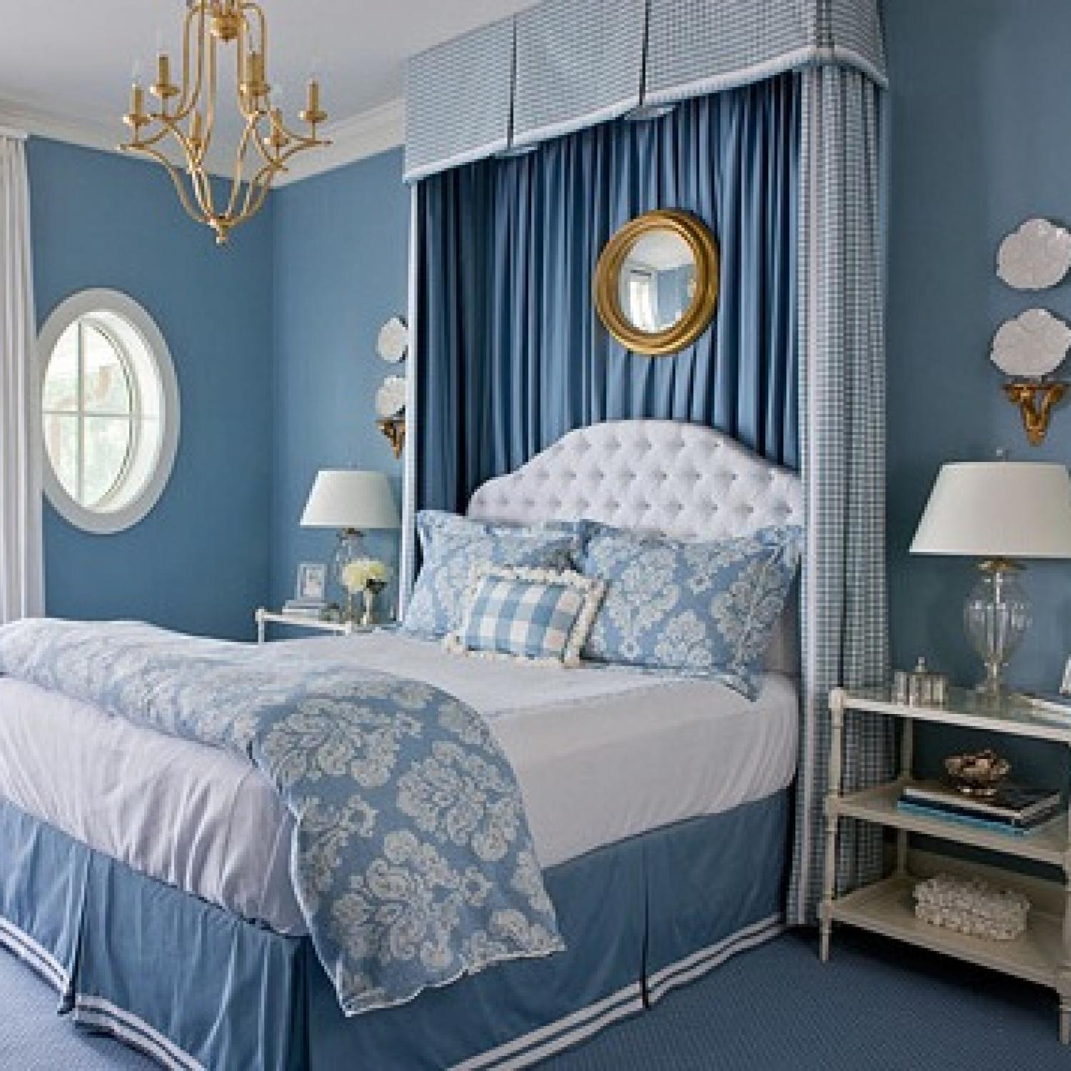 Best Beautiful Blue Bedrooms Traditional Home This Month
