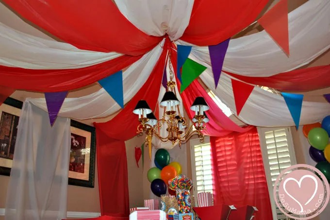 Best Circus Party Big Top Baby Shower This Month