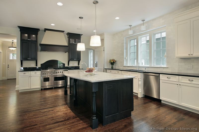 Best Black And White Kitchen Designs Ideas And Photos This Month