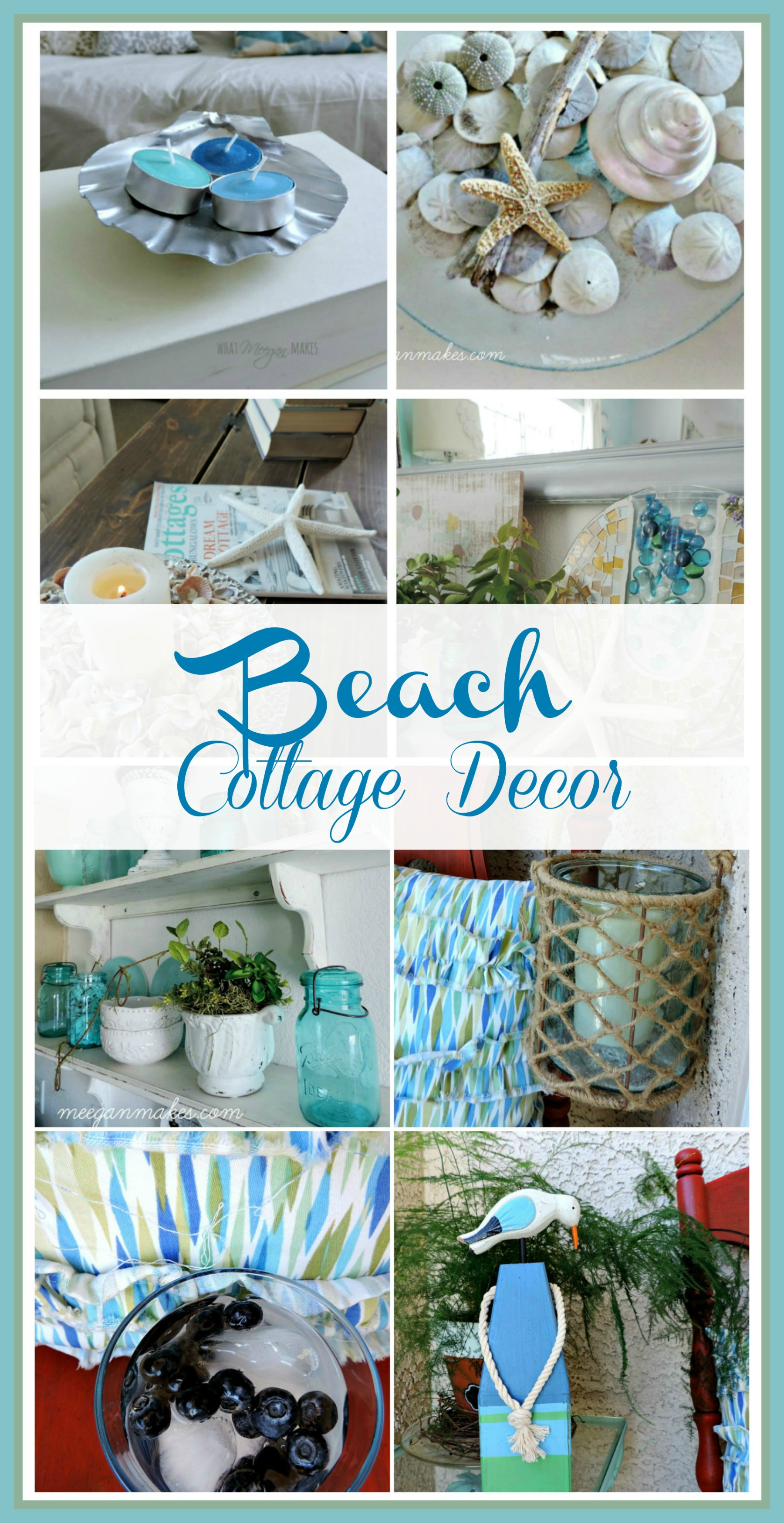 Best Beach Cottage Decor Waterside Blog Tour What Meegan Makes This Month