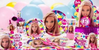 Best Barbie Party Supplies Barbie Birthday Party City This Month