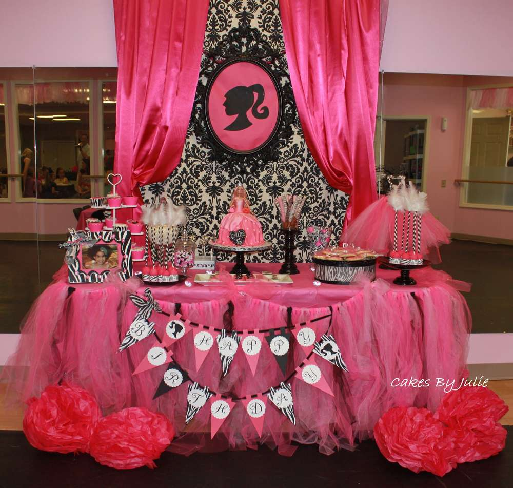 Best Vintage Barbie Birthday Party Ideas Photo 1 Of 19 This Month